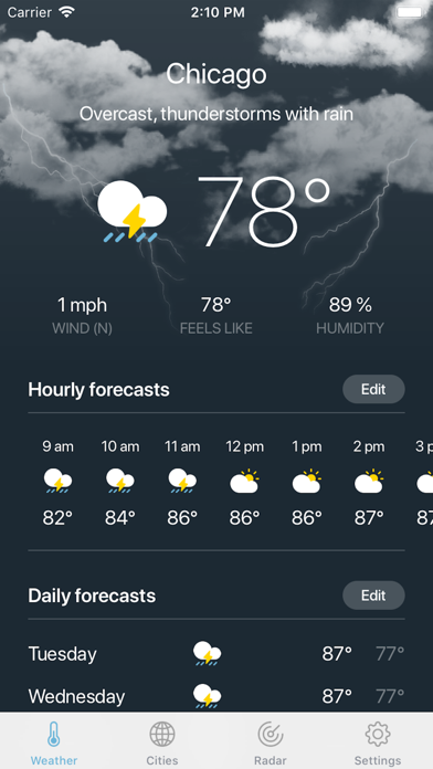 Weather · screenshot 2