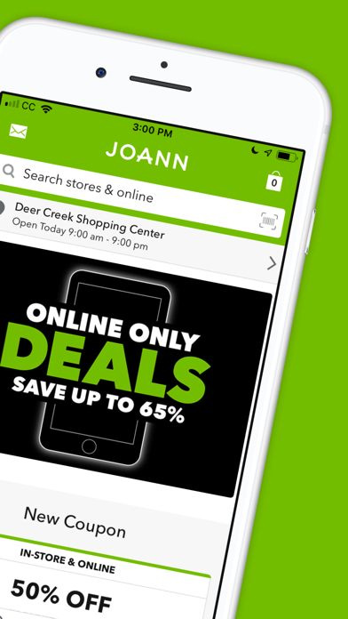Joann review screenshots