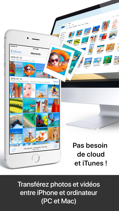 Screenshot #2 pour PhotoSync – transfert photos