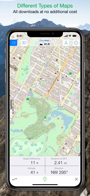 Maps 3D PRO - Outdoor GPS on the App Store Default Map App Iphone on