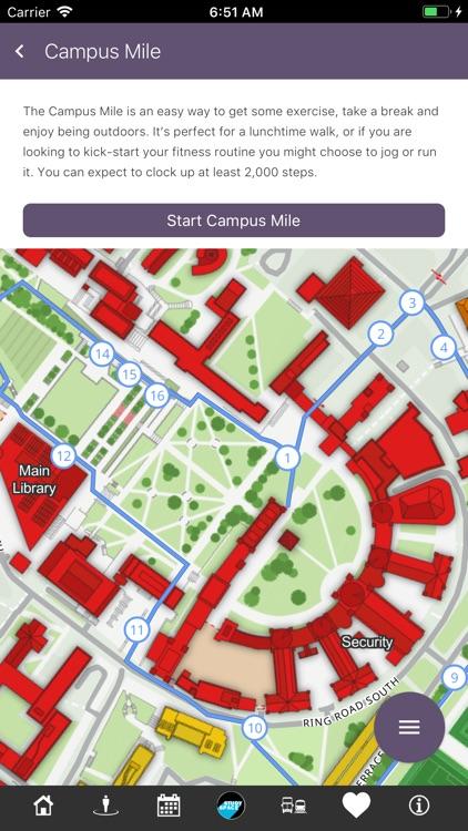 UoB Campus Map