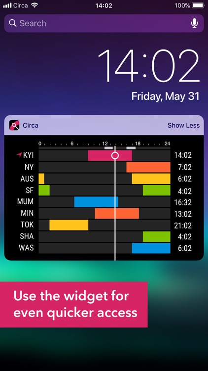 Circa³ – Time Zone Converter screenshot-2