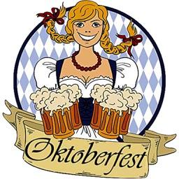 Happy Oktoberfest Beer Icon