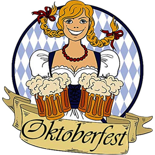 Happy Oktoberfest Beer Icon