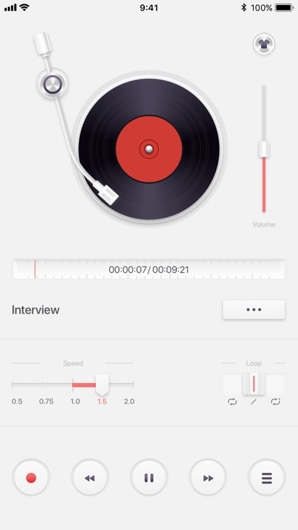 Voice Recorder PRO, Recording screenshot-1