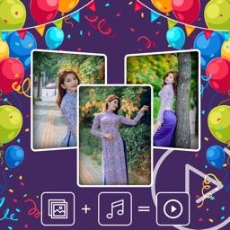 Happy Birthday - Video Editor