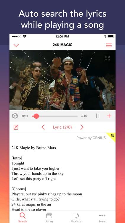 Mu - Online Music Video Player screenshot-3