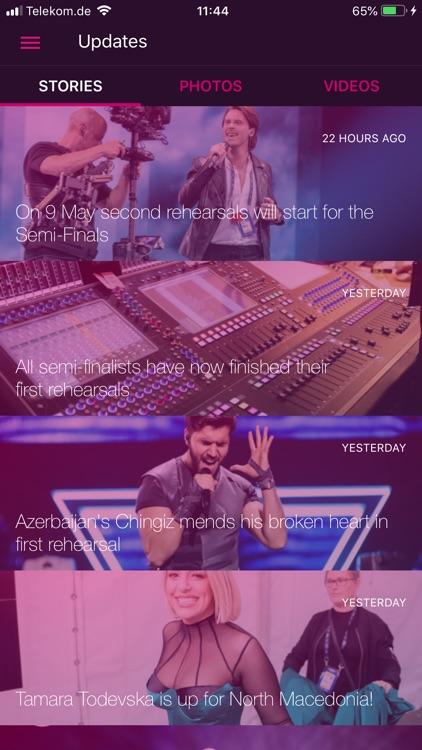 Eurovision Song Contest screenshot-3
