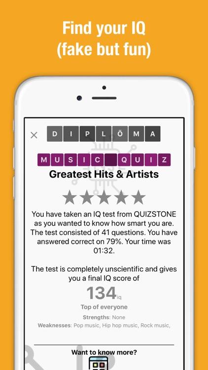 Music Quiz - Songs & Trivia screenshot-3