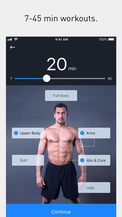 Runtastic Results Abs Workout Screenshot