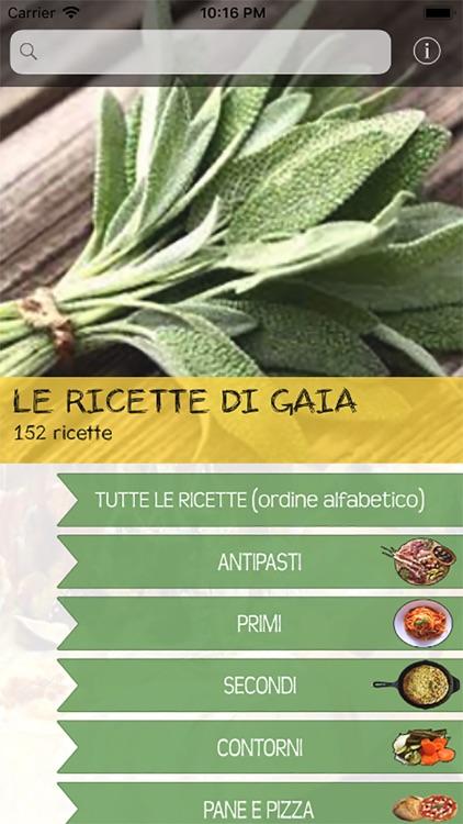 Le ricette di Gaia