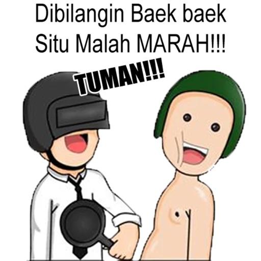 Meme Tuma Stickers image