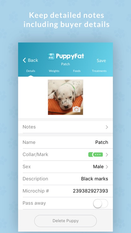 PuppyFat - Whelping Records screenshot-3