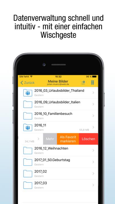Herunterladen WEB.DE Online-Speicher für Pc
