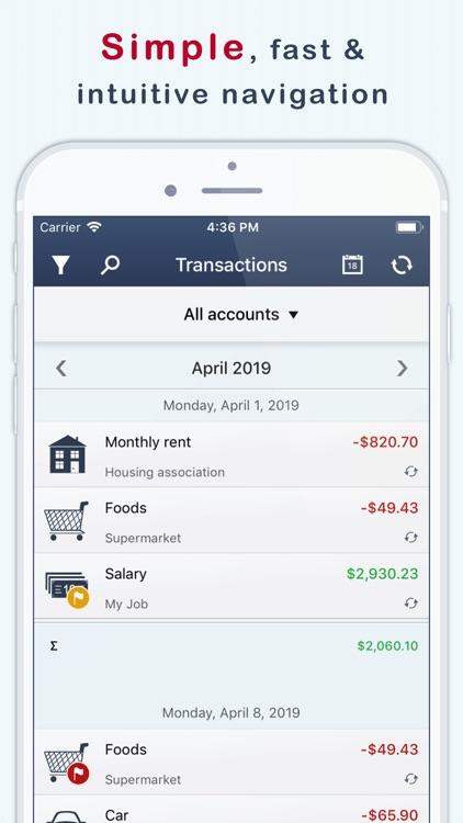MoneyStats - Expense Tracker screenshot-3