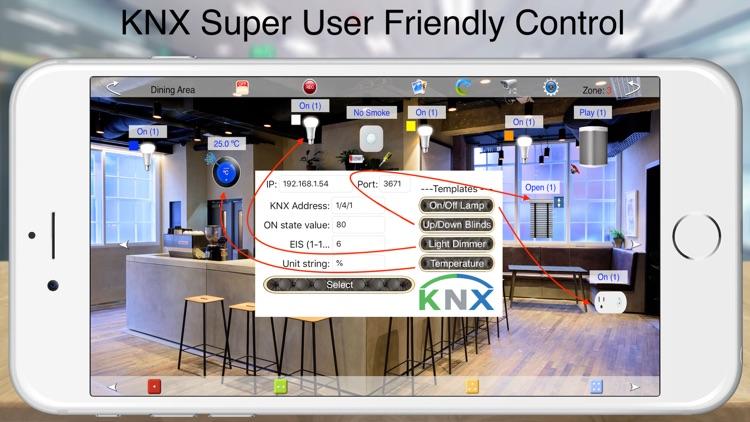 HOS Smart Home KNX EIB Live screenshot-8