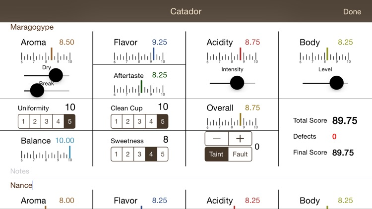 Catador Cupping