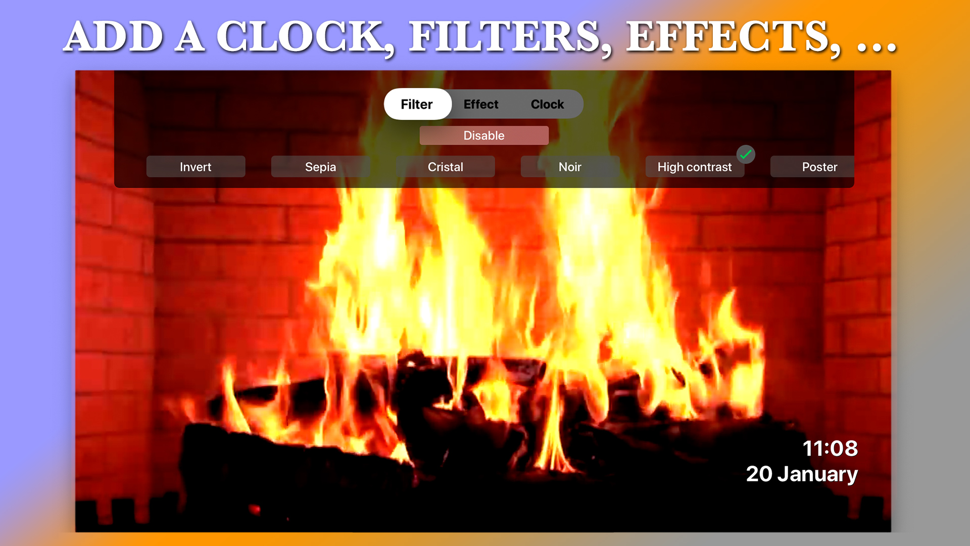 Aquarium TV Screen screenshot 3