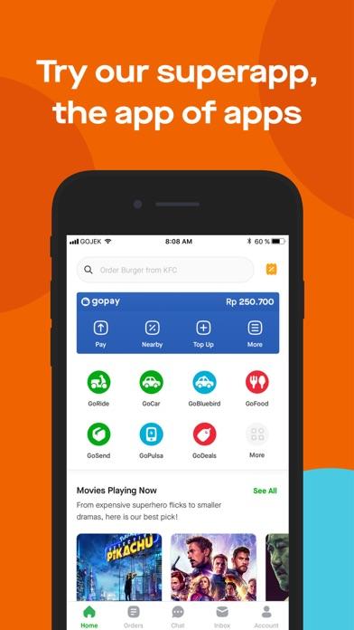Gojek by PT GO-JEK INDONESIA (iOS, United States) - SearchMan App