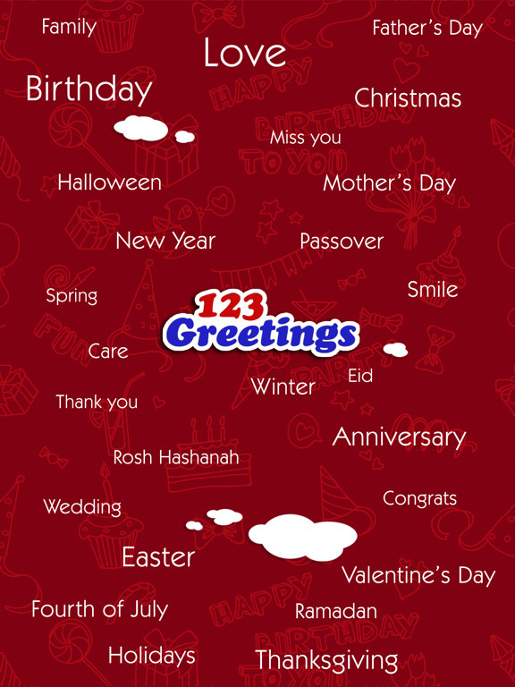 Screenshot #5 pour Greeting Cards & Wishes