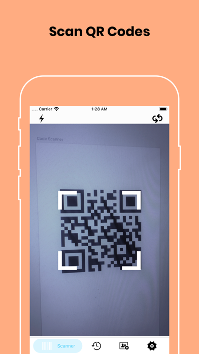 QR Code Reader and Scanner!のおすすめ画像1