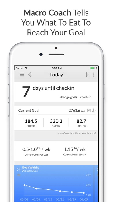 Screenshot for My Macros+ | Diet & Calories in Chile App Store