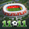App Icon for 11x11: Football Manager App in Azerbaijan IOS App Store