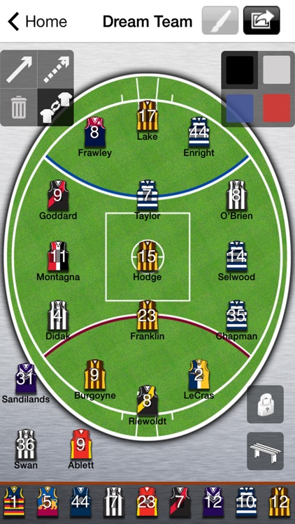 AFL Lineup 2020 screenshot-0