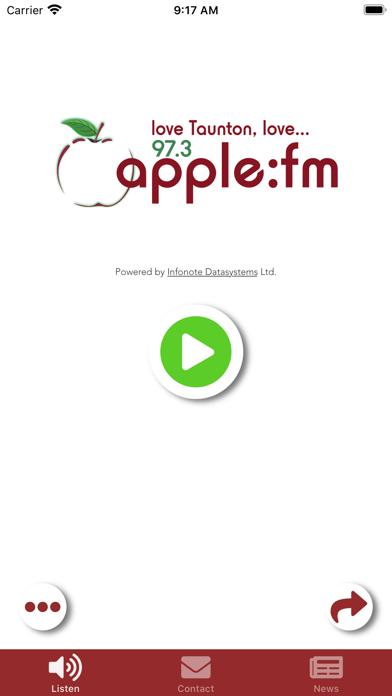 Apple FM screenshot one