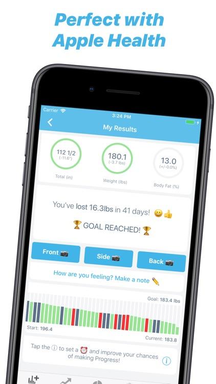 Progress Body Tracker & Health screenshot-6