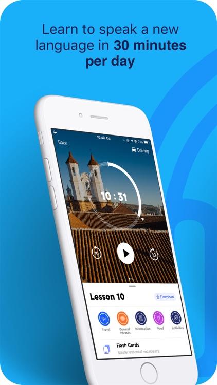 Pimsleur - Learn Language Fast screenshot-0