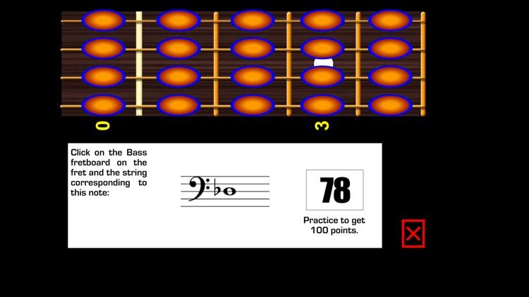 Reading Bass sheet music PRO screenshot-3
