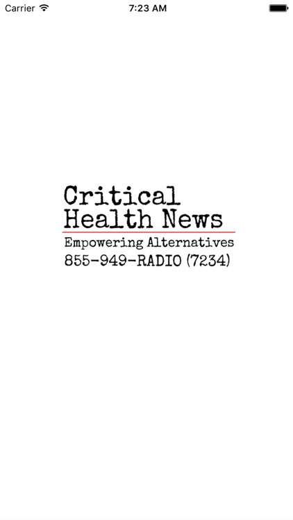 Critical Health News