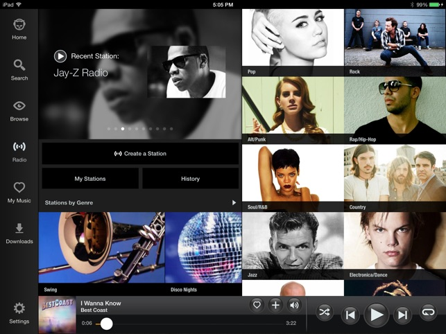 ‎Napster Screenshot