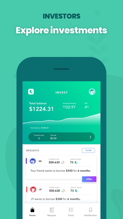 Lenme: Investing and Borrowing screenshot-6