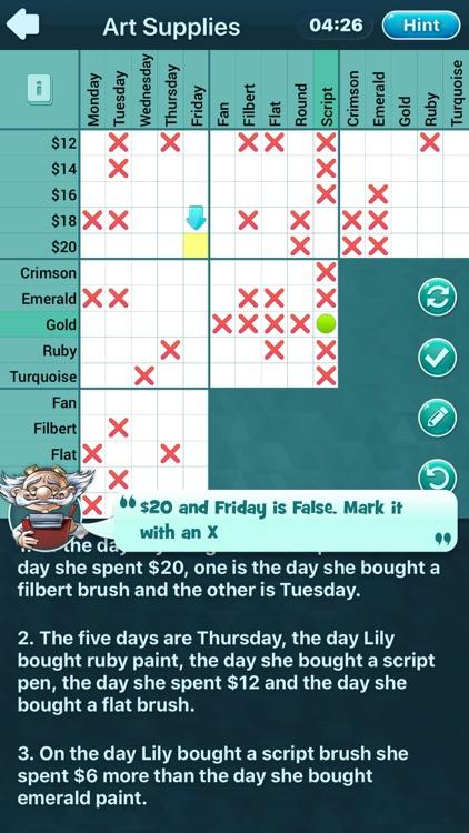 Logic Puzzles Daily screenshot-0