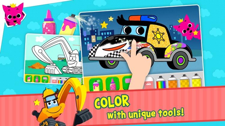 Pinkfong Car Town screenshot-4