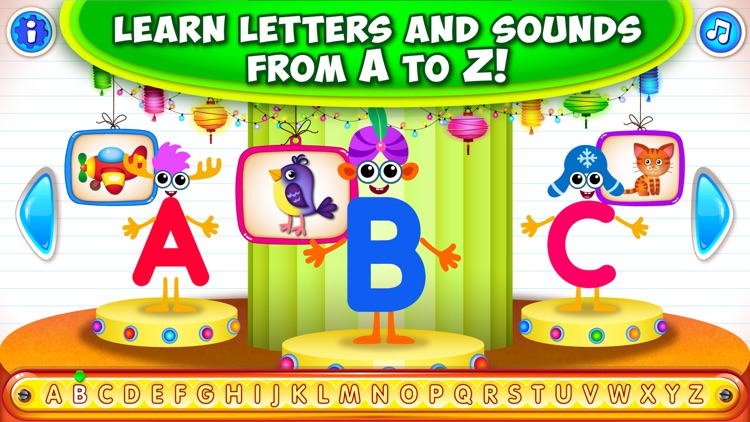 ABC Alphabet for Kids Games to screenshot-0
