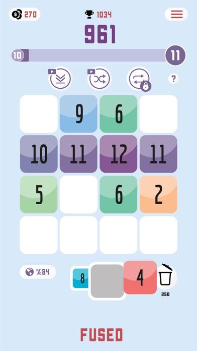 Fused: Number Puzzle screenshot 3