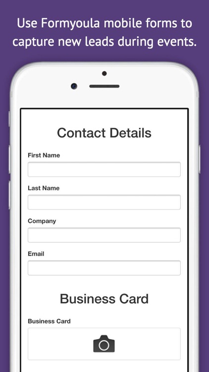 Formyoula Mobile Forms