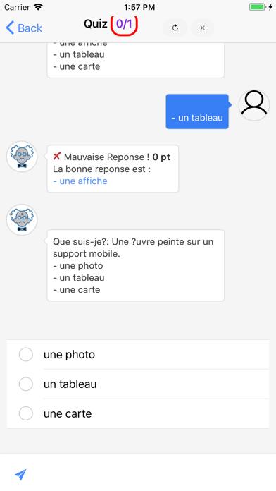 Cours de Littérature screenshot 3