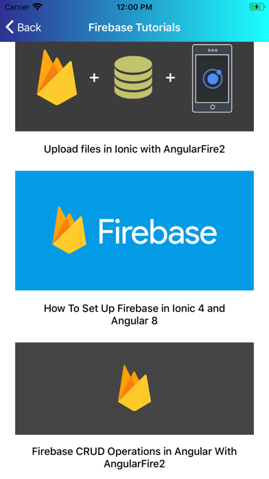Learn Firebase [PRO] screenshot 7