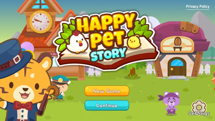 Happy Pet Story: Virtual Pet screenshot-0