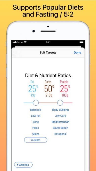Nutrients & Caloriesのおすすめ画像2