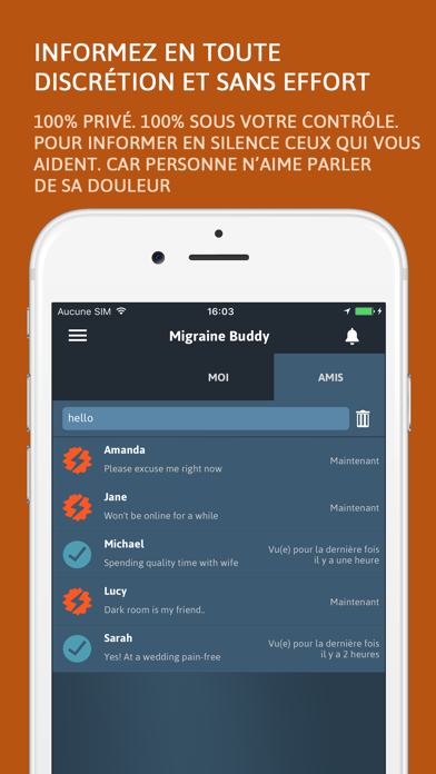 messages.download Migraine Buddy software