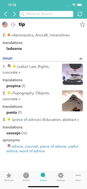 English Spanish Dictionary L On The App Store
