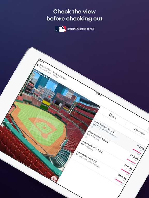 StubHub - Sports, Concert, Theatre & Festival Tickets. Find Seats for Upcoming Local Events. screenshot