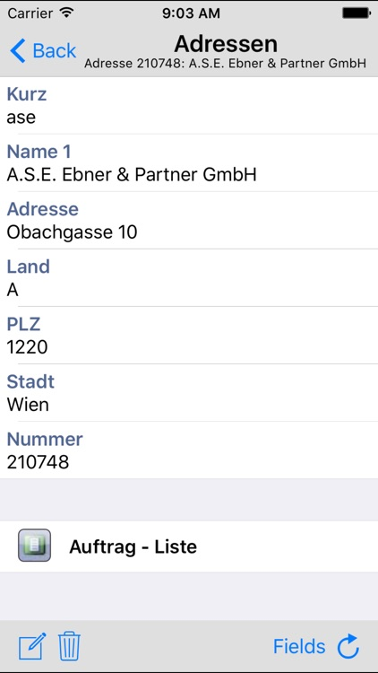 ASE Workgroups Mobile