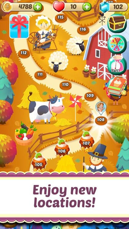 Mahjong Cupcake Bakery Puzzle screenshot-6