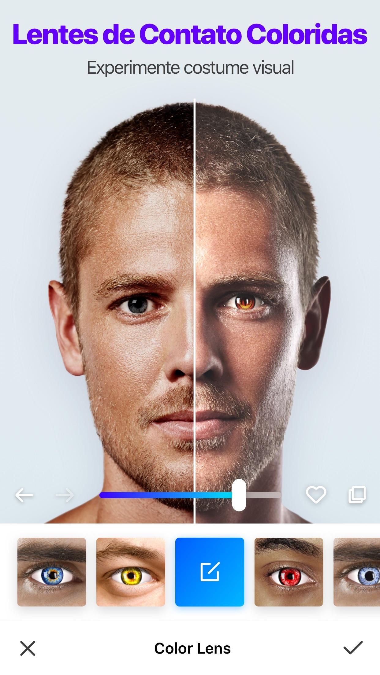Screenshot do app Manly - Editor Musculos Corpo